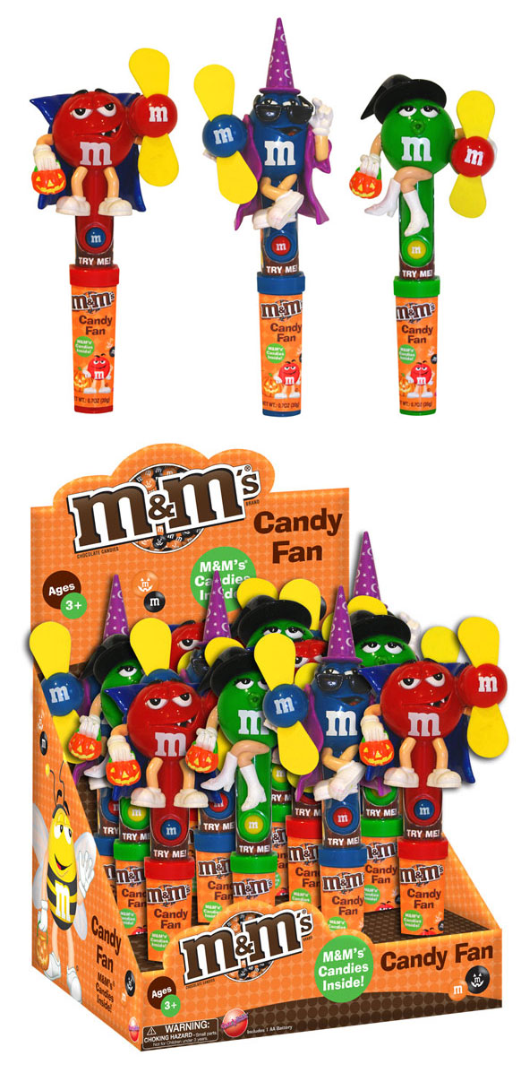 mm halloween candy fan
